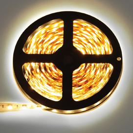 Лента светодиодная Ecola LED strip STD 14.4W/m 12V IP20 10mm 60Led/m 2800K 14Lm/LED 840Lm/m 0.5м