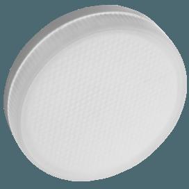 Ecola Light GX53 LED  4.2W Tablet 220V 6400K 27x75 матовое стекло 30000h