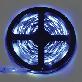 Лента светодиодная Ecola LED strip STD 7.2W/m 12V IP20 10mm 30Led/m Blue Синяя 0.5м
