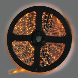 Лента светодиодная Ecola LED strip STD 4.8W/m 12V IP20 8mm 60Led/m Yellow Желтая 0.5м