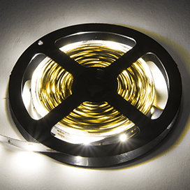 Ecola LED strip PRO  9W/m 12V IP20 10mm 30Led/m 4200K 20Lm/LED 600Lm/m светодиодная лента на катушке 0.5м.