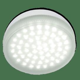Ecola Light GX53   LED  4.2W Tablet 220V 4200K матовое стекло 30000h