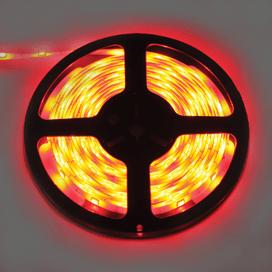 Лента светодиодная Ecola LED strip PRO 7.2W/m 12V IP65 10mm 30Led/m Red Красная 0.5м