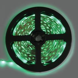 Лента светодиодная Ecola LED strip STD 4.8W/m 12V IP20 8mm 60Led/m Green Зеленая 0.5м