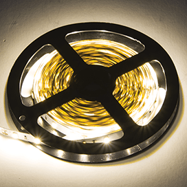Ecola LED strip PRO 19W/m 12V IP20 10mm 60Led/m 2800K 20Lm/LED 1200Lm/m светодиодная лента на катушке 0.5м.