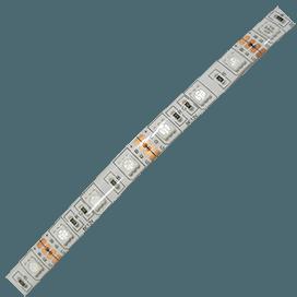 Лента светодиодная Ecola LED strip PRO 14.4W/m 12V IP65 10mm 60Led/m RGB разноцветная 0.5м