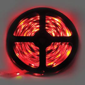 Лента светодиодная Ecola LED strip STD 7.2W/m 12V IP20 10mm 30Led/m Red Красная 0.5м