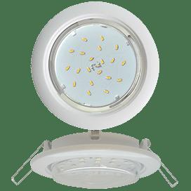 Ecola GX53 5355 Встраиваемый Легкий Белый (светильник) 25x106
