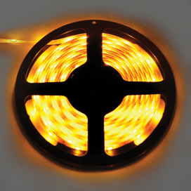 Лента светодиодная Ecola LED strip PRO 7.2W/m 12V IP65 10mm 30Led/m Yellow Желтая 0.5м
