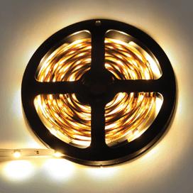 Лента светодиодная Ecola LED strip STD 7.2W/m 12V IP20 10mm 30Led/m 2800K 14Lm/LED 420Lm/m 0.5м