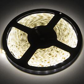 Ecola LED strip PRO 19W/m 12V IP65 10mm 60Led/m 4200K 20Lm/LED 1200Lm/m светодиодная лента на катушке 0.5м.