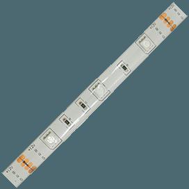 Лента светодиодная Ecola LED strip PRO 7.2W/m 12V IP65 10mm 30Led/m RGB разноцветная 0.5м