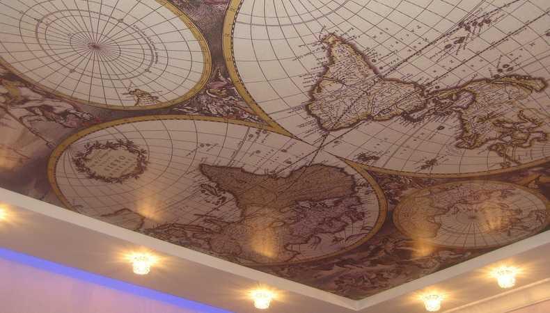 Тканевые натяжные потолки в Ярославле