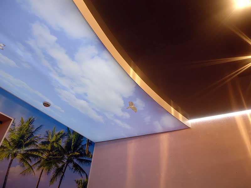 Натяжные интим-потолки - фото 3
