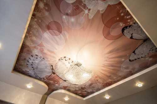 Натяжные интим-потолки - фото 2