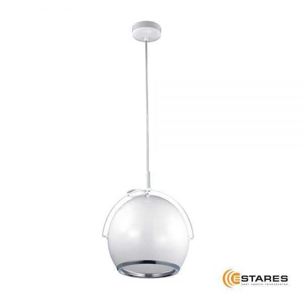 Подвесной светодиодный светильник CDD12W AC220V Белый  матовый корпус  (Теплый белый)