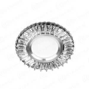 (1 штука) Светодиодный точечный светильник ES-901/GX53-125-4W/CW-CLEAR/CLEAR-220-IP20 /2019