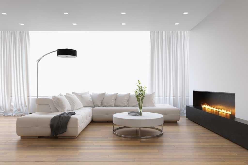 Белый матовый потолок