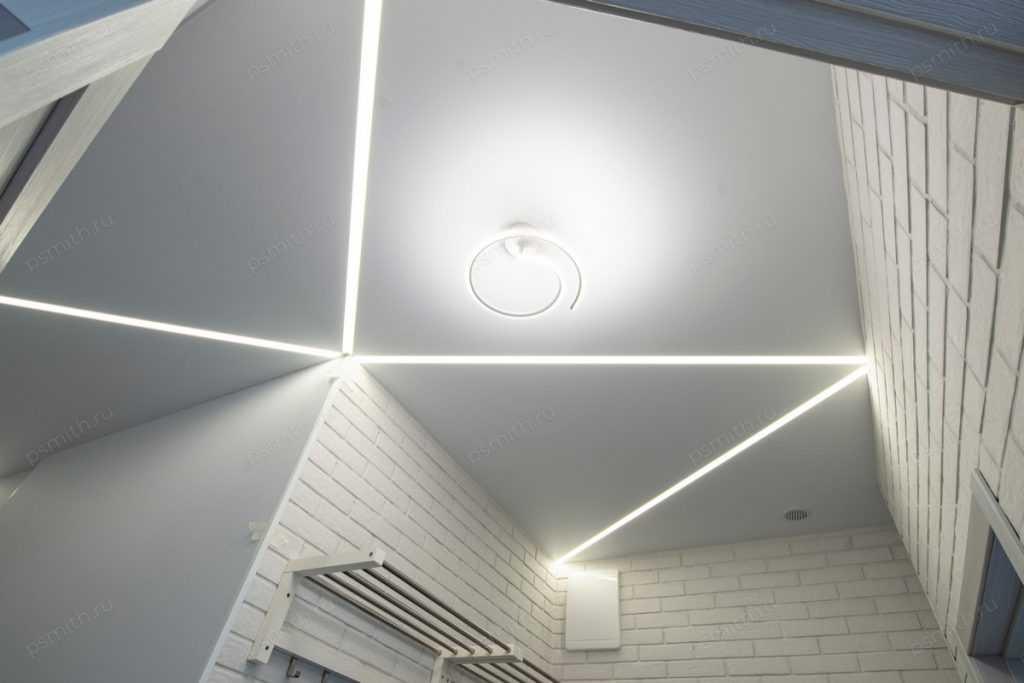 Контурный натяжной потолок - фото 1