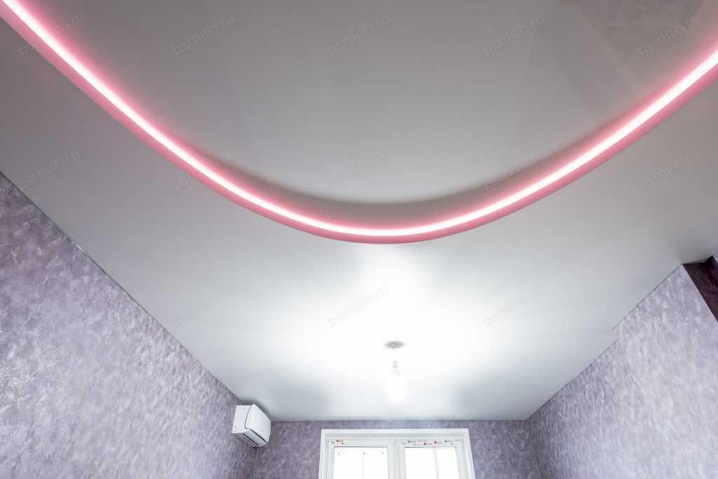 Контурный натяжной потолок - фото 2